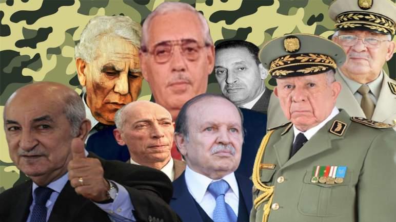 إنتاج الرؤساء في الجزائر ..العسكر الجزائري لا يحسن الصنع ويكرر الأخطاء نفسها