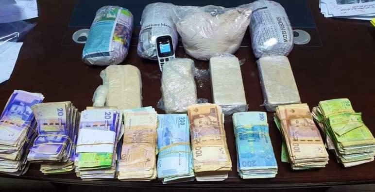 حجز هيروين بقيمة مالية تقارب 200 ألف درهم في طنجة
