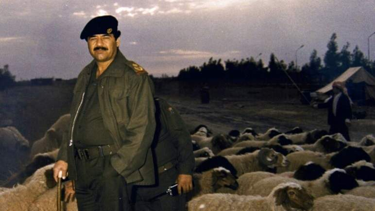 صدام حسين في فيلم هوليودي
