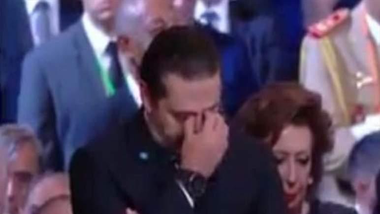 الحريري يبكي جاك شيراك (فيديو)