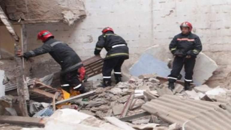 مؤلم.. مصرع شخصين في انهيار حائط بعين الذئاب في الدار البيضاء