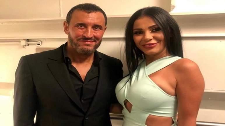 كاظم الساهر يتزوج سرا من ممثلة مصرية (صورة)