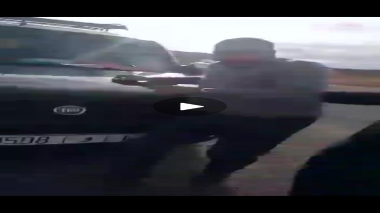 مواطن يدهس بسيارته قائدا بإقليم أزيلال (فيديو)