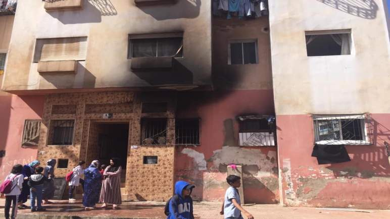 """""""شارجور"""" يقتل طفلا بعد تسببه في اندلاع حريق مهول بشقة في سيدي معروف"""
