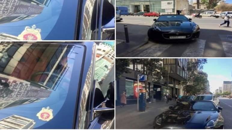 """""""دكتور جاغوار"""" يعود بسيارته الفارهة.. وأمن البيضاء يطبق في حقه القانون"""